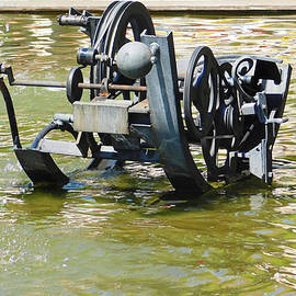 Tinguely Fountain2 Basel by Emmy Marie Vickers