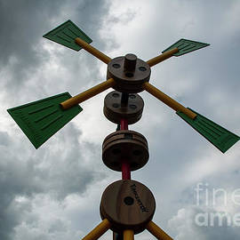 Tinker toy in the sky by Ruth H Curtis