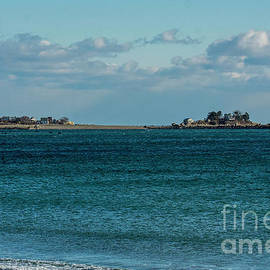 Tinkers Island from Deveraux Beach by Ruth H Curtis