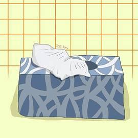 Tissue box by Jess Key