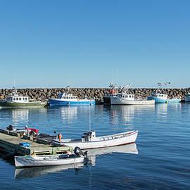 Tiverton Harbor by Jurgen Lorenzen