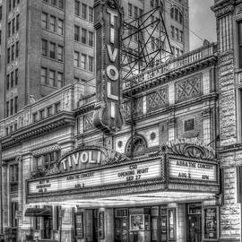 Tivoli Theater Jewel Of The South B W Historic Chattanooga Tennessee Architectural Art by Reid Callaway