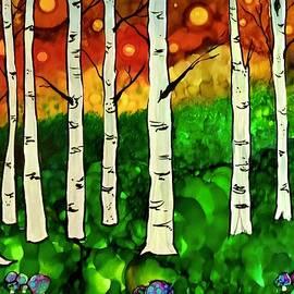 Toadstools and Fireflies by Sonja Jones