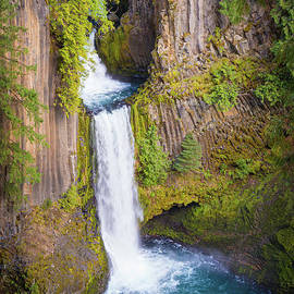 Toketee Falls by Inge Johnsson