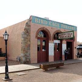 Tombstone's Infamous Bird Cage Theatre by Gordon Beck