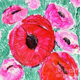 Top of the Bouquet poppies by Patty Donoghue