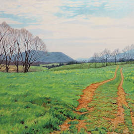 Touch of Spring - Spring Landscape in Virginia by Bonnie Mason