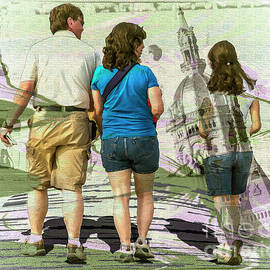 Tourists by Anthony Ellis