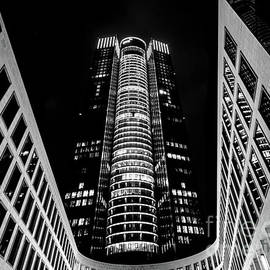 Tower 185 in Black and White by Norma Brandsberg