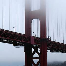 Golden Gate Bridge Tower by Ocean View Photography