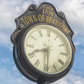 Town Clock - Beaufort North Carolina by Bob Decker