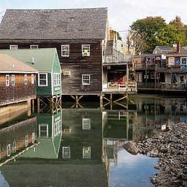 Town of Kennebunkport by Rosette Doyle