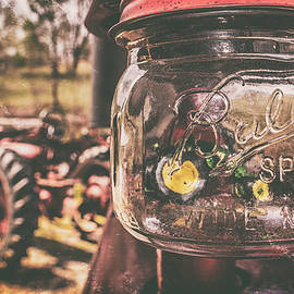 Tractor In A Jar by Jim Love