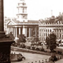 Trafalgar Square, London 1908. by Joe Vella