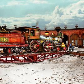 Train - Civil War - Love me tender 1869 by Mike Savad