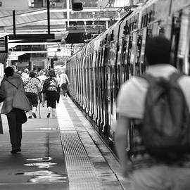 Train For Disneyland Paris by Neil R Finlay
