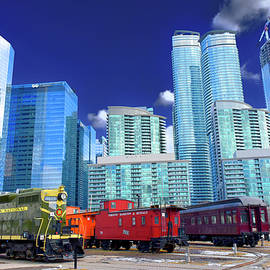 Trains and Tall Towers by Brian Shaw