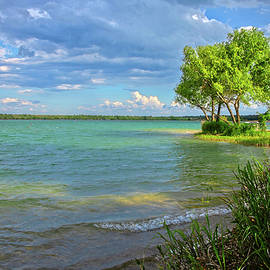 Tranquil Times at Boerne City Lake by Lynn Bauer