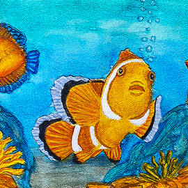 Trapical Fish Seascape by Marty's Royal Art