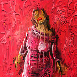 Trapped in Paint by Anthony Mwangi