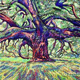 Treaty Oak #5 by Viktor Lazarev