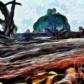 Tree Boneyard and Seastack in La Push by Sea Change Vibes