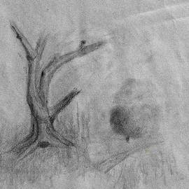 Tree drawing #k9 by Leif Sohlman