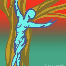 Tree Goddess by Mary Mikawoz