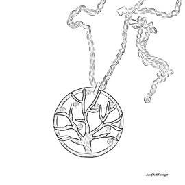 Tree of life. Graphic series.  by SurfArtTango Marina Lisovaya