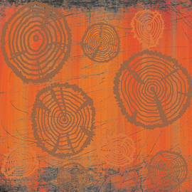 Tree Rings by Nancy Merkle