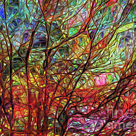 Trees in Stained Glass by Judi Bagwell