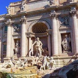 Trevi Fountain by Andrew Cottrill