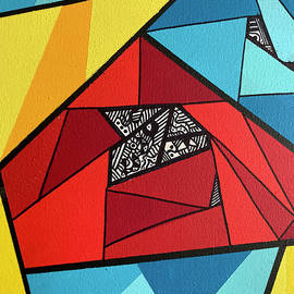 Triangles Shapes by Rita Vidigal