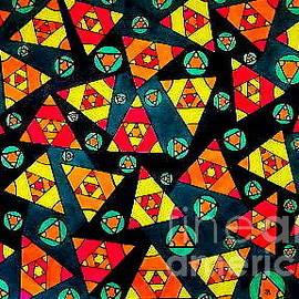 Triangular Doodle by Neal Alicakos
