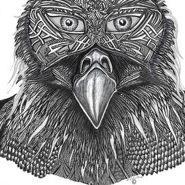Tribal Mystic Witch Doctor - eagle masked by Washburn Designs