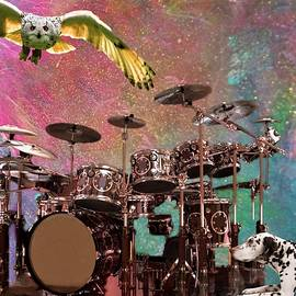 Tribute to Neil Peart by Mary Poliquin - Policain Creations