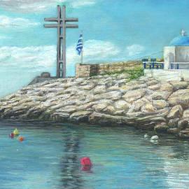 Tribute to sailors by Marina Petsali