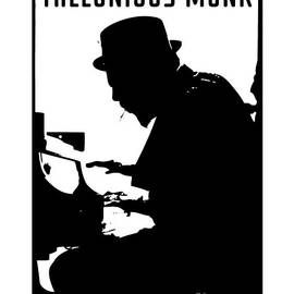 Tribute To Thelonious Monk by BlackLineWhite Art