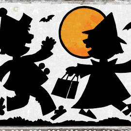 Trick or Treat Under the Gibbous Moon by Mario Carini