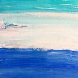 Tricolor in seascape by MC Mintz