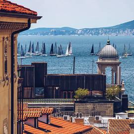 Trieste - Sailing Regatta in the Adriatic Sea by Alexander Voss