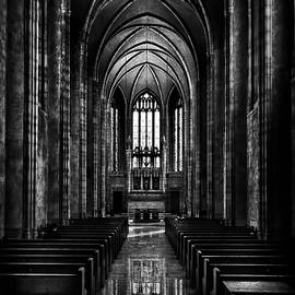 Trinity College Chapel Reflection by Brian Carson