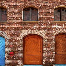 Trio Of Doors on Queen Street  -  doortrioqueenstcharleston135933