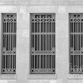 Trio Of Neoclassical Windows by Bentley Davis