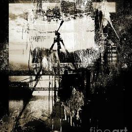 Tripod - Monochrome by Anthony Ellis