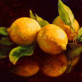 Tropical Lemons by Laurie Snow Hein