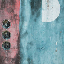 Tropical Moonrise Wall, Cozumel Mexico, 2011 by Michael Chiabaudo