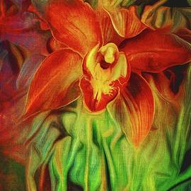 Tropical Orchid by Christina Ford
