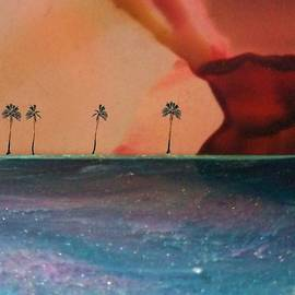 Tropical Thoughts by Mary Poliquin - Policain Creations