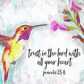 Trust In The Lord by Tina LeCour